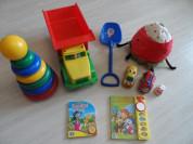Пакет развивающих игрушек,музыкал.книг, ягода Икея
