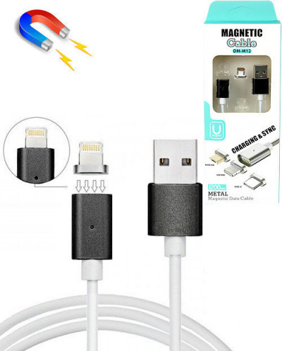 Магнитный USB IPHONE 1.2 м 2А