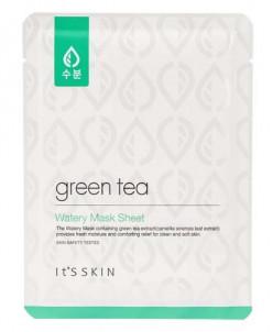 Its skin Увлажняющая маска с экстрактом зеленого чая