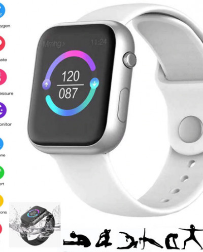 Смарт часы фитнес браслет SX16 цвет
