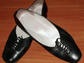 Туфли черные кожаные SC Collection - р.41-42 ст.27