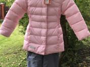 Зимний костюм для девочки 128 размер