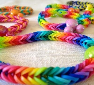 Набор для плетения Loom Bands Яблоко