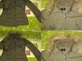 Куртка - пуховик Zolla р. 42 без капюшона с натура