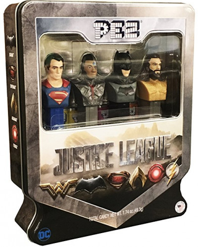PEZ Candy Justice League Gift Set in Tin - Superman