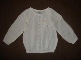 Новая кофта-блузка с выработкой д/д Gymboree 116р.