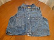 Новая джинсовая рубашка Bershka, размер S/26