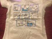 Летние футболки для девочек, р. 98-122