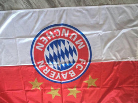 Шарф ФК Бавария и Флаг
