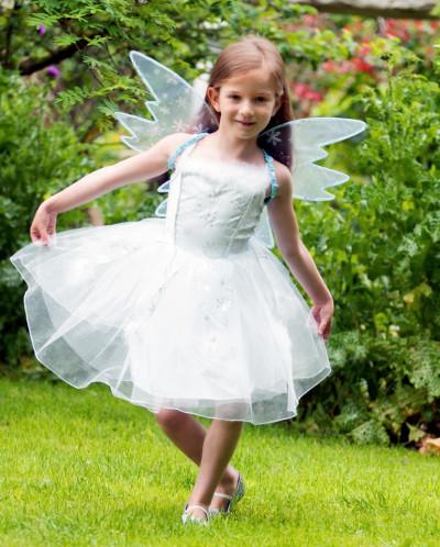 Girls 'Frozen Fairy' 2 Piece Dress-Up Costume