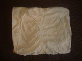 Простыня на резинке в детскую кроватку 120*60