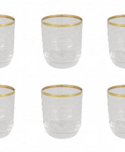 Набор: 6 хрустальных стопок для водки Венето