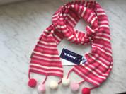 Новый, шерстяной шарф Kerry с помпончиками д/д.