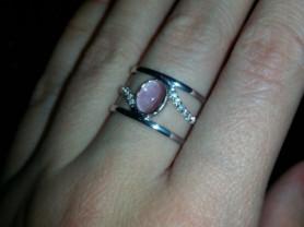 Кольцо Соколов серебро с аметистом размер 17