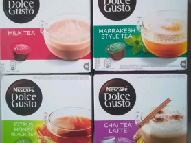 Капсулы Dolce Gusto чаи в ассортименте