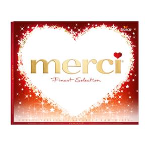 Merci Ассорти 250г х 10 (с перфорацией в виде сердца)