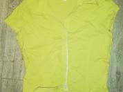 Отдам блузку р. 42, цвет салотовый (оливковый) на