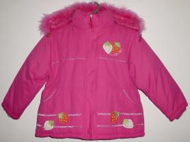 Куртка девочке зима синтепон 110-116 см