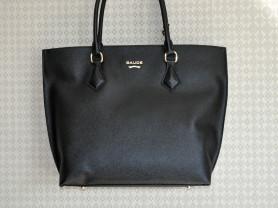 Новая черная кожаная сумка Gaude Milano  Италия