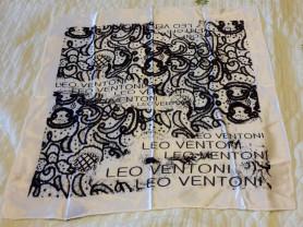 Платок Leo Ventoni шелк 53*53 см новый