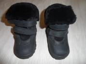 Почти новые ботинки Орсетто натуральные зима осень