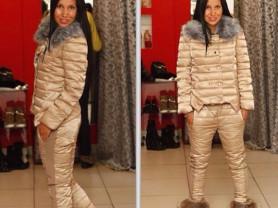 костюм зимний женский