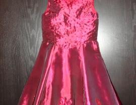 нарядное платье 104р. реально на 5-7л.