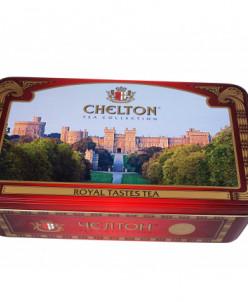 Чай Chelton «Королевский вкус» крупнолистовой чай 500 гр ж/б