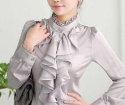 Новая белоснежная блузка