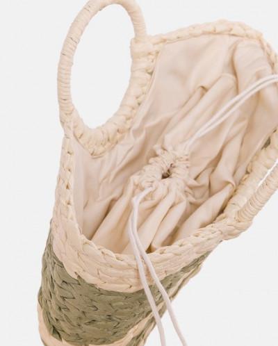 Соломенная сумка с красивым плетением MR 2222 2373 0220