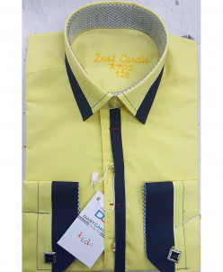 Рубашка для мальчика, Dast Cardin, арт.1102, желтый