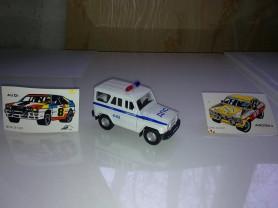Машинка коллекционная УАЗ 4-02, дпс Милиция