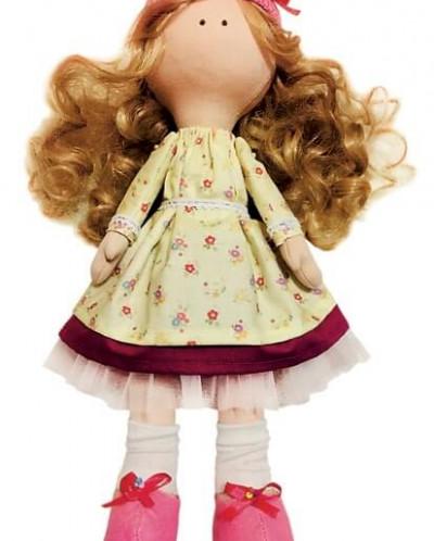 Принцесса Мимоза - текстильная игрушка