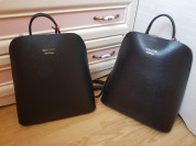 Новый элегантный кожаный рюкзак Италия