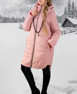 Зимняя Куртка Лиана (розовый) Olis-Style