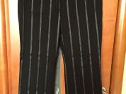 Черные брюки в полоску Sis Mountain р.50-52