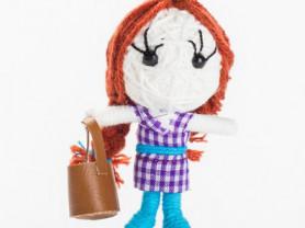 Фамилла - кукла, талисман, ручная работа
