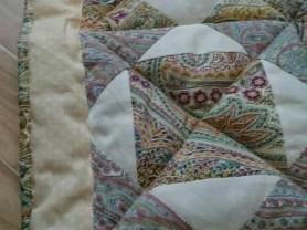 Новое детское одеяло в стиле пэчворк