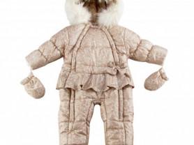 Новый зимний комбинезон Wojcik+шапка и шарф