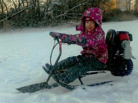 Детский мини снегоход «Малыш».