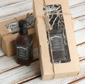 Мыло мужское Jack Daniels - бутылочка 3D
