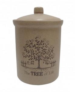 Банка для сыпучих продуктов большая Дерево жизни
