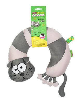 Подушка-подголовник антистресс Кот