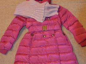 Пальто зимнее 140-146