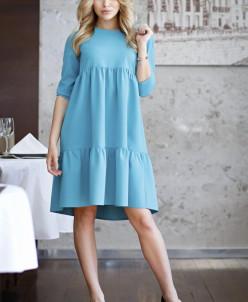 Платье Вивьен цвет бирюза (П-148-3)
