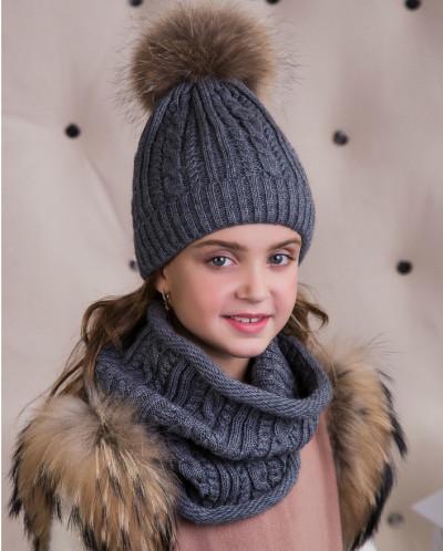 17Z01k Комплект: шапка/снуд