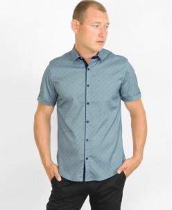 Серая высококачественная рубашка Amato