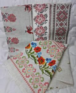 Набор полотенец рогожка (5 шт.)