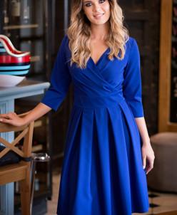 Платье Жанна цвет электрик (П-178-1)