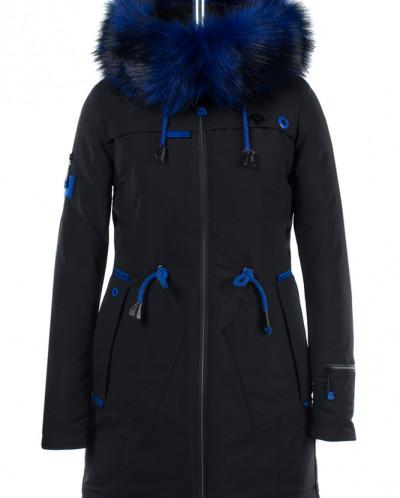 05-1545 Куртка зимняя (Синтепон 300) Плащевка Черный